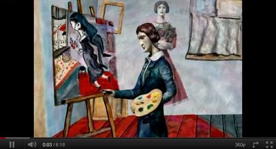 Video marc chagall la passion for Biographie de marc chagall