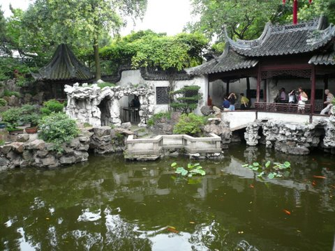 Un merveilleux jardin appel le jardin du mandarin yu for Le jardin yuyuan